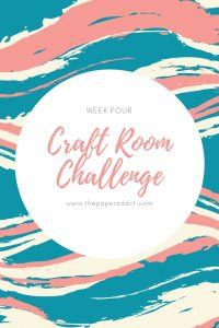 craft supply organization - craft room challenge