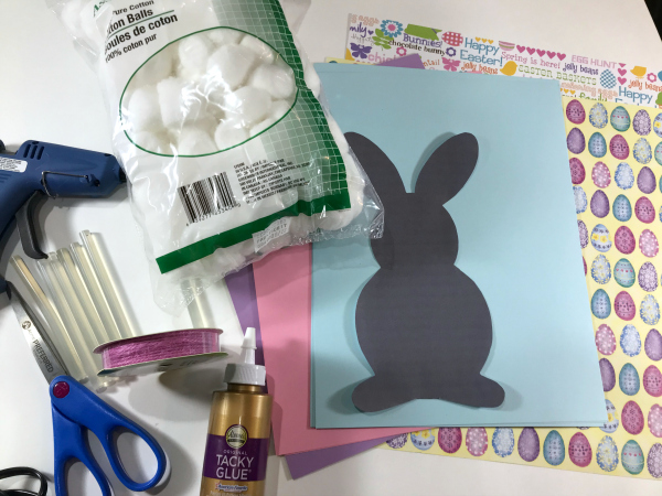 Easter Bunny DIY Paper Garland