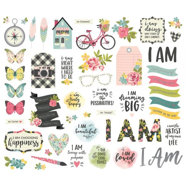 Simple Stories I Am Die Cuts