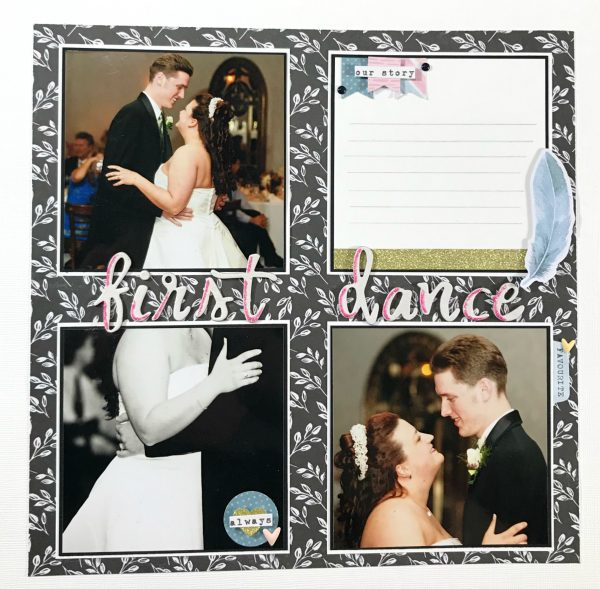 First Dance Wedding Layout