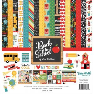 Echo Park back to school 12x12 collection kit