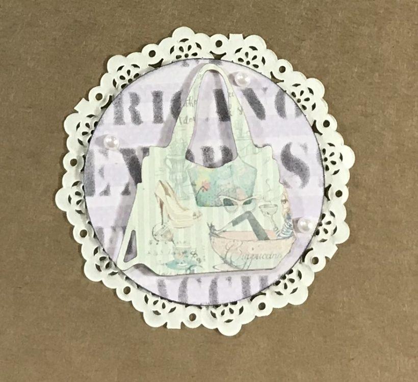FabScraps Artist Trading Coin Blog Hop