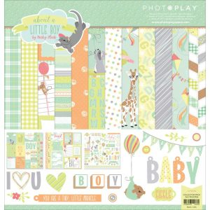 PhotoPlay Paper About A Little Boy Scrapbook Collection Kit