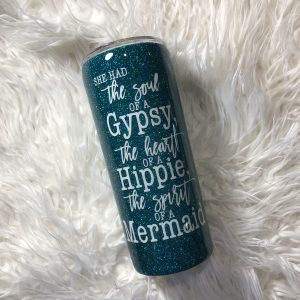 20oz Mermaid Custom Tumbler