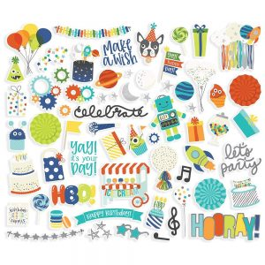 Simple Stories Birthday Blast Die Cuts