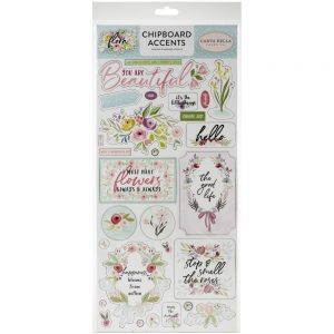 Carta Bella Flora Chipboard Stickers