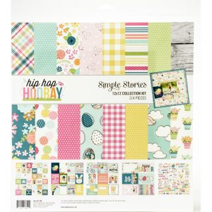 Simple Stories Hip Hop Hooray 12x12 Collection Kit