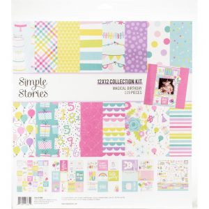 Simple Stories Magical Birthday 12x12 Collection Kit