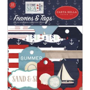 Carta Bella By The Sea Die Cut Frames and Tags