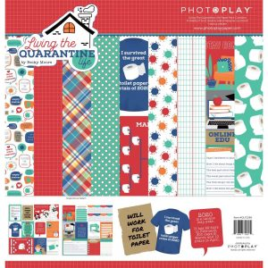 PhotoPlay Living The Quarantine Life 12x12 Scrapbook Collection Kit