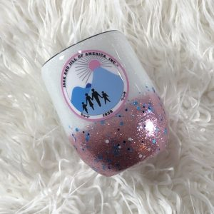 Jack and Jill Of America Wine Tumbler
