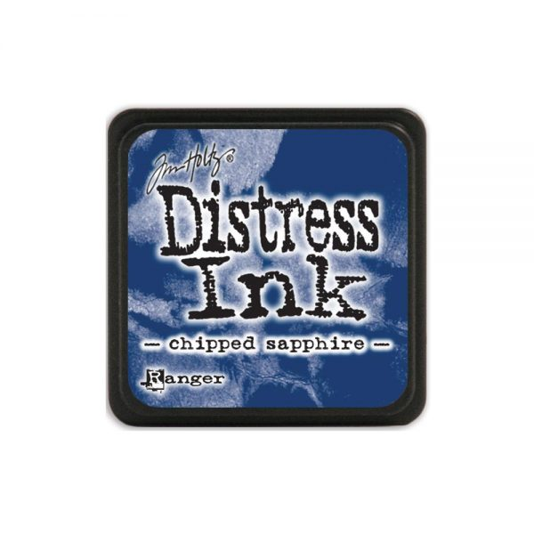 Tim Holtz Mini Distress Ink Chipped Sapphire