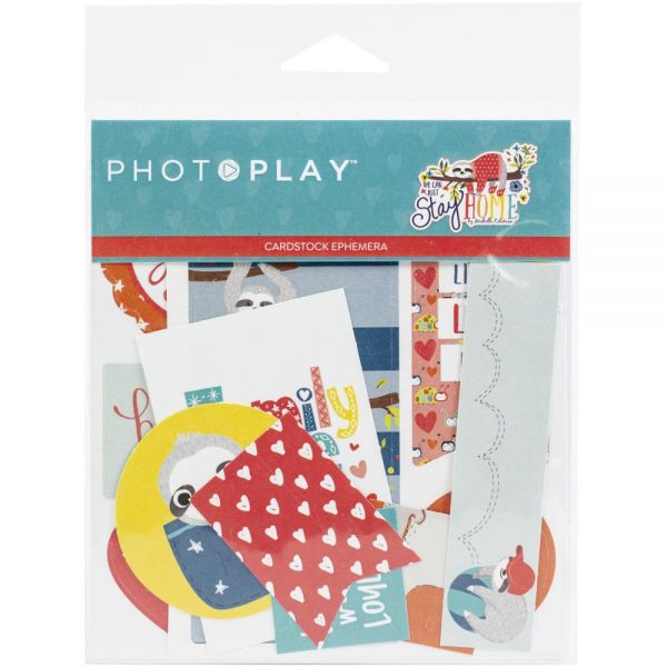 Photoplay We Can Just Stay Home Die Cuts