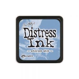 Tim Holtz Mini Distress Ink Stormy Sky