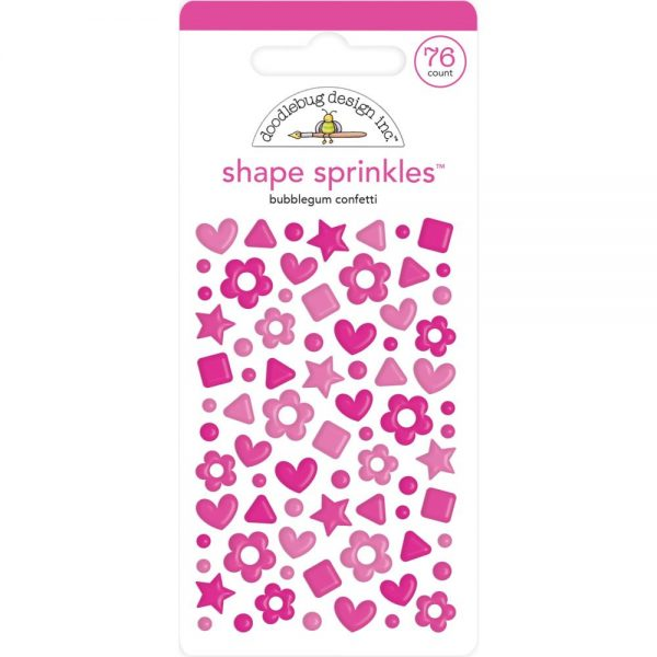 Doodlebug Designs Bubblegum Shape Sprinkles