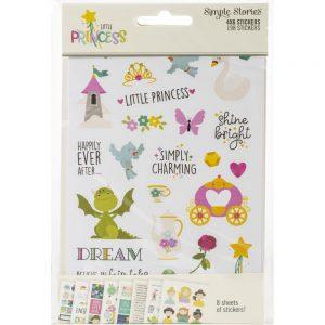 Simple Stories Little Princess 4x6 Stickers
