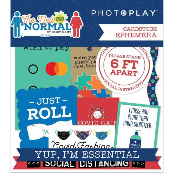Photoplay paper the new normal die cut ephemera