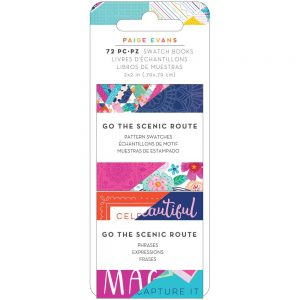 Paige Evans Go The Scenic Route Swatch Books