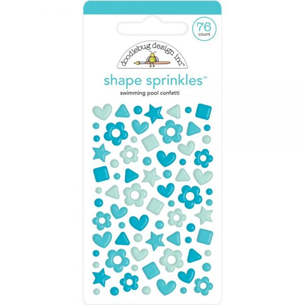 Doodlebug Swimming Pool Shape Sprinkles