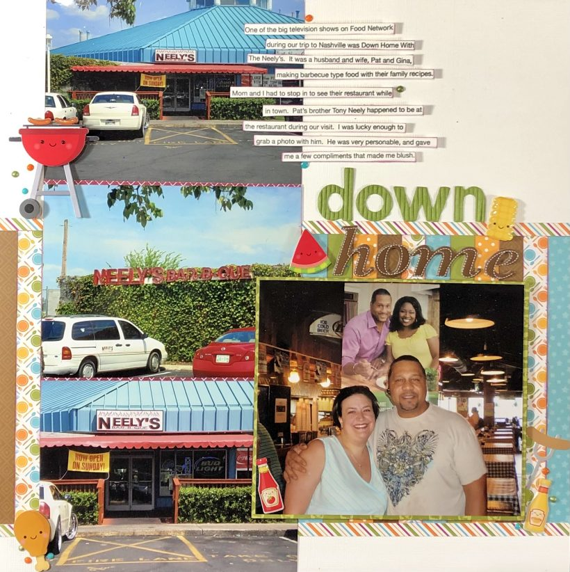 Down Home Scrapbook Process Video