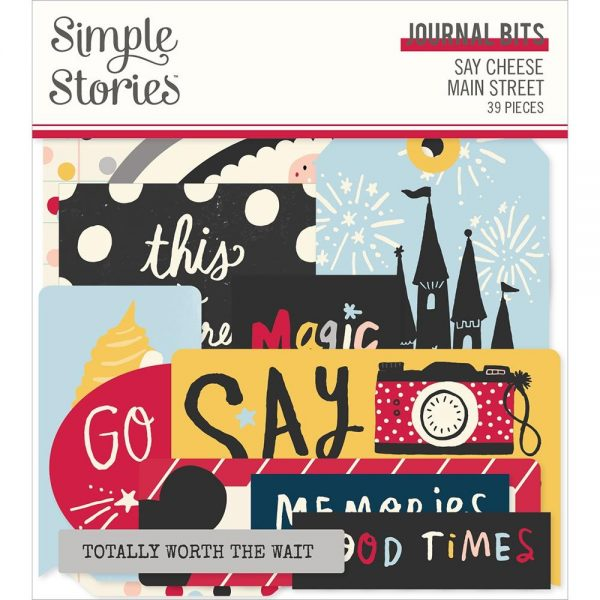 Simple Stories Say Cheese Main Street Journal Bits