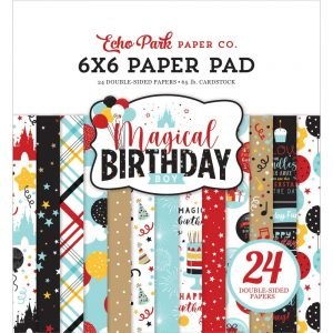 Echo Park Magical Birthday 6x6 Paper Pad
