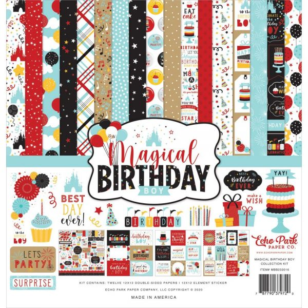 Echo park Magical Birthday 12x12 Collection Kit
