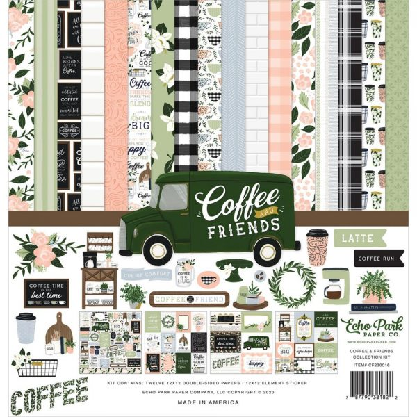 Echo Park Coffee and Friends 12x12 Collection Kit
