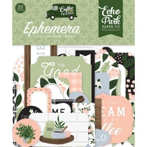 Echo Park Coffee & Friends Ephemera