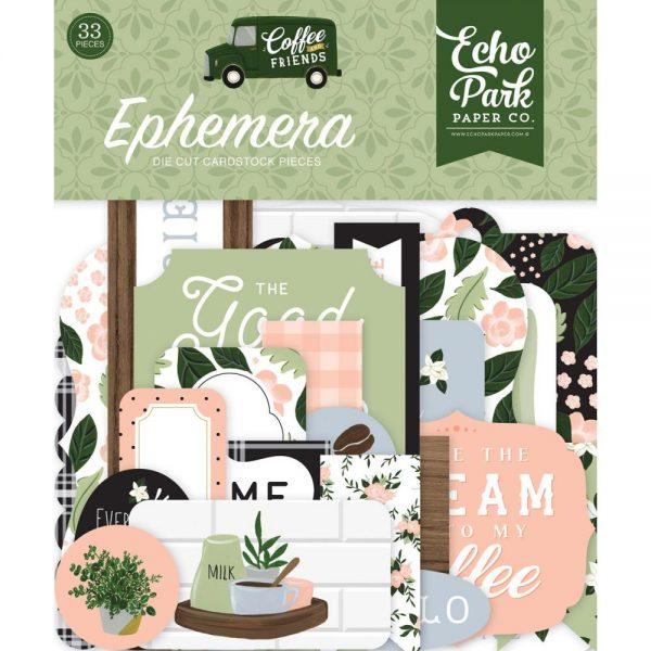 Echo Park Coffee & Friends Ephemera
