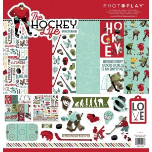 PhotoPlay The Hockey Life 12x12 Collection Kit