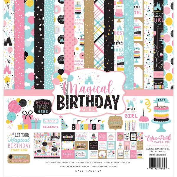 Echo Park Magical Birthday Girl 12x12 Collection Kit