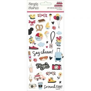 Simple Stories Say Cheese Main Street Puffy Stickers