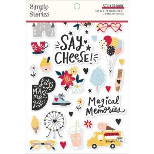 Simple Stories Say Cheese Main Street Sticker Book
