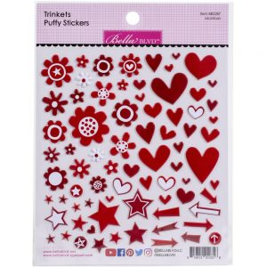 Bella blvd mcintosh red trinket puffy stickers
