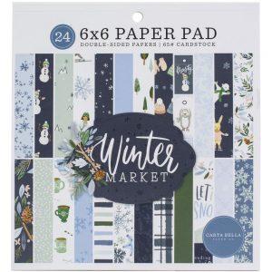 Carta Bella Winter Market 6x6 Paper Pad