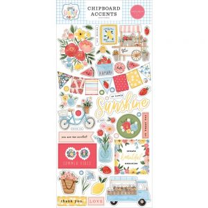 Carta Bella Summer Chipboard Accents