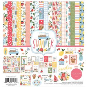 Carta Bella Summer 12x12 Scrapbook Collection Kit