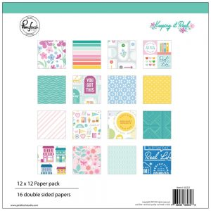 Pinkfresh Studio Keeping It Real 12x12 Scrapbook Collection Kit