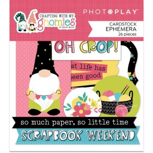 Photoplay Paper Crafting With My Gnomies Die Cuts