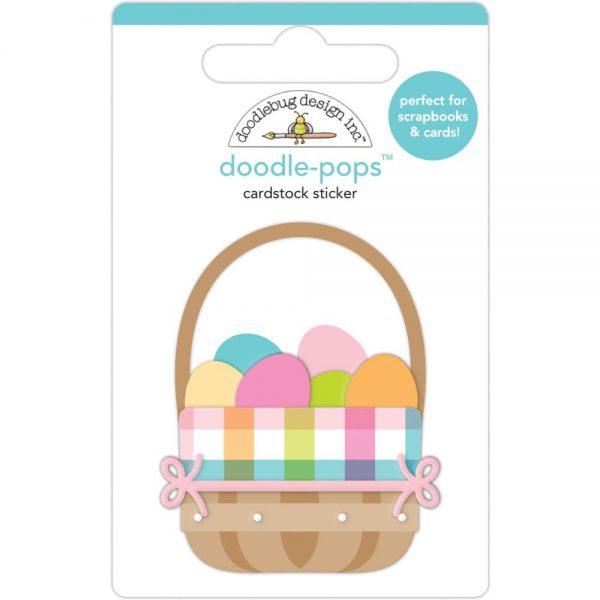 Doodlebug Designs Easter Basket Doodle-pop sticker