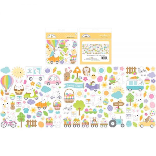 Doodlebug Hippity Hoppity Odds and Ends Die Cuts