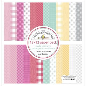 Doodlebug Design Made With Love 12x12 Petite Prints Cardstock