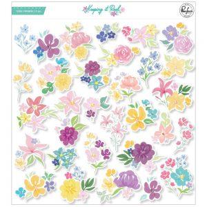 Pinkfresh Studio Keeping It Real Floral Ephemera