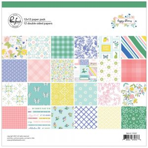 Pinkfresh Happy Blooms 12x12 Collection Kit