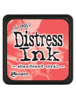 Tim Holtz Abandoned Coral Mini Distress Ink Pad