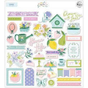 Pinkfresh Studio Happy Blooms Die Cuts