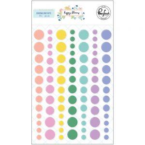 Pinkfresh Studio Happy Blooms Enamel Dots