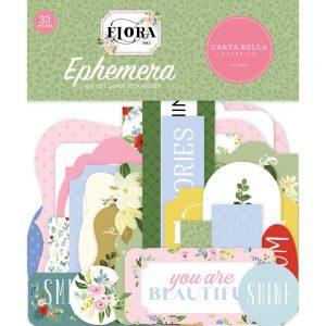 Carta Bella Flora 4 Ephemera