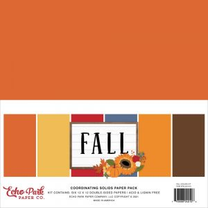 Echo Park Fall 12x12 Cardstock
